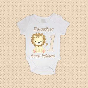 1 éves lettem oroszlános