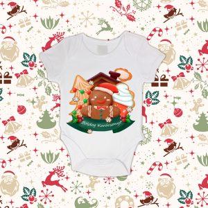 Boldog Karácsonyos Baba Body