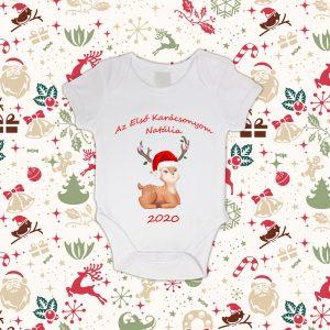 Az Első Karácsonyom Baby Body évszámmal