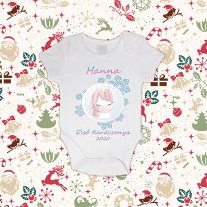 Baba Unikornisos Első Karácsonya Baby Body