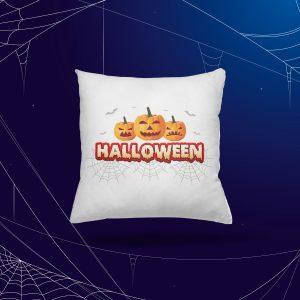 Halloweenos Tökös Párna