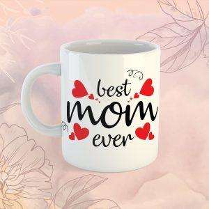Best Mom Ever Bögre