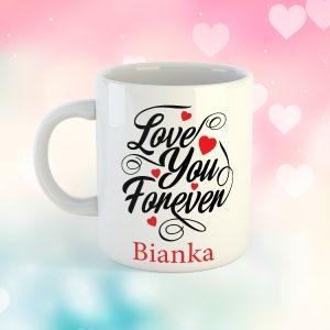 Love You Forever Neves Bögre