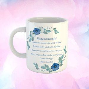 Meglepetés Verses Bögre Nagymamáknak