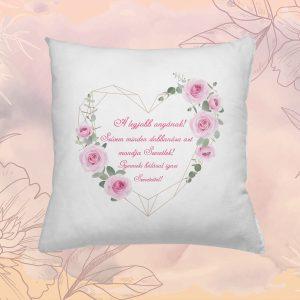 Ajándék Verses Emlék Párna Anyukáknak